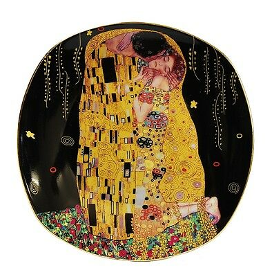 Teller Gustav Klimt* Der Kuss*the Kiss*le Baisier