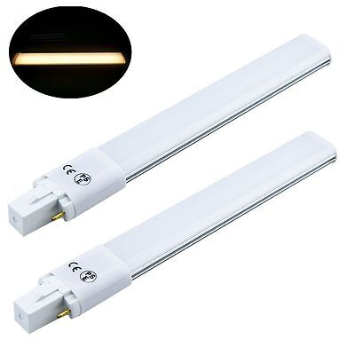 Bonlux 8W G23 2-Pin LED Bulb 180 Degree 18W Compact Fluorescent Lamp Equivalent