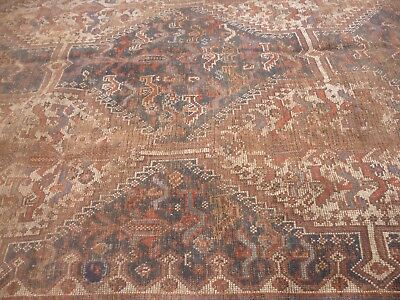 Antique oriental Persian  rug  297CM X 172CM  NICELY WORN