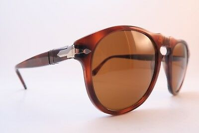 Vintage Persol sunglasses keyhole bridge men's MED/LAR original lens Italy