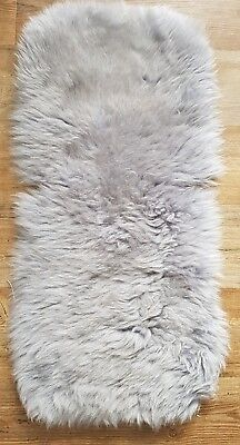 Silver ..silver Cross/bugaboo Sheepskin Buggy Pushchair Pram Car Seat Liner Mat