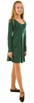 Celtic Dance Lyrical-Stage-St Patrick's Day IRISH DANCE DRESS Ladies Sizes 10-26