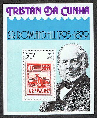 Tristan da Cunha 263 MNH Death Centenary of Sir Rowland Hill