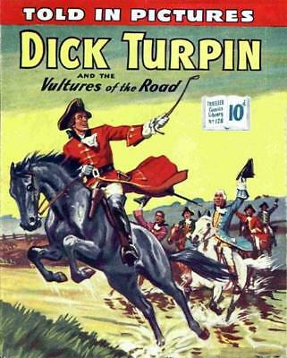 THRILLER PICTURE LIBRARY No.128 -  DICK TURPIN -  Facsimile