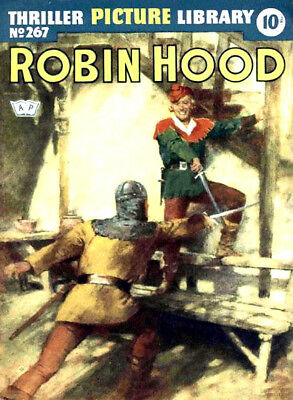 THRILLER PICTURE LIBRARY No.267 -  ROBIN HOOD -  Facsimile