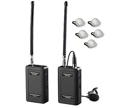 Saramonic SR-WM4C Wireless 4-Channel VHF Lavalier Omnidirectional Microphone