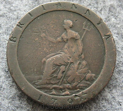 Great Britain George Iii 1797 Penny, Cartwheel