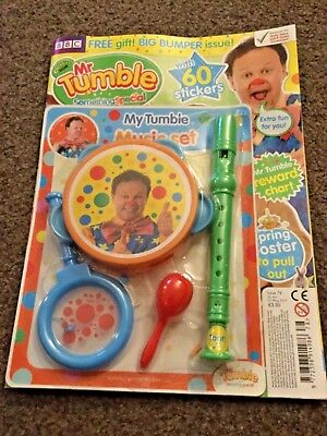 cbeebies mr tumble something special magazine issue 78 My tumble music set