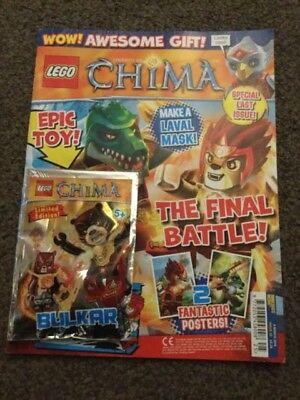 Lego Legends Of Chima Magazine Issue 25 Bulkar figure