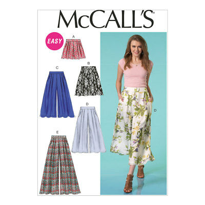 New Mccalls Easy Sewing Pattern M7018 Misses Tops And Tunic