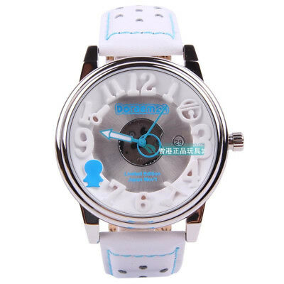 Japan Doraemon Special Edition Leather Band Wrist Watch W/ Gift Box  Do0015