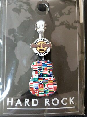 Hard Rock Cafe Berlin  all is one Guitar pin