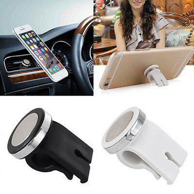 Magnetic Support Phone GPS Car Air Vent Mount Clip Outlet Holder Cradle Stand