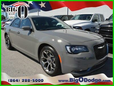 2018 Chrysler 300 Series S 2018 Chrysler 300 S New 3.6L V6 24V Automatic RWD Sedan Premium