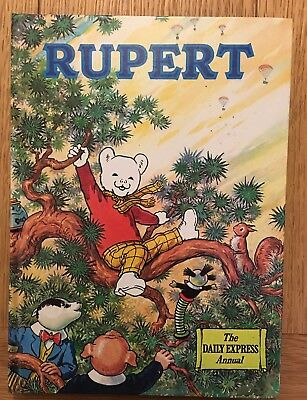 Rupert Bear The Daily Express Annual from 1973