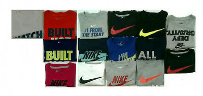 Boys Toddler Nike Short Sleeve Graphic T-Shirt Select Size 2T, 3T, 4T (2235)