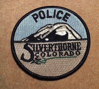 CO Silverthorne Colorado Police Patch