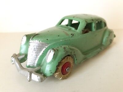 HUBLEY CAST IRON LINCOLN ZEPHYR - RARE 6 INCH - 1930's - MUST SEE ORIGINAL MODEL