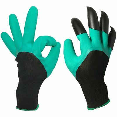 Garden Genie Gloves ,Garden Glove With Claw, Easy for Digging and Planting