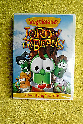 New/Sealed Dvd! Veggietales, Veggie Tales Lord Of The Beans, Using Your Gifts!