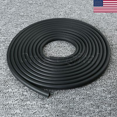8M Rubber Car Truck Window Edge Seal Sealing D-Type Weather Strip Universal
