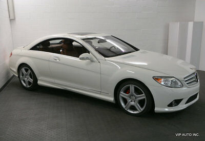 Mercedes-Benz CL-Class CL550 2dr Coupe 5.5L V8 Mercedes Benz CL550 Premium 2 Package AMG Sport Package Power Trunk