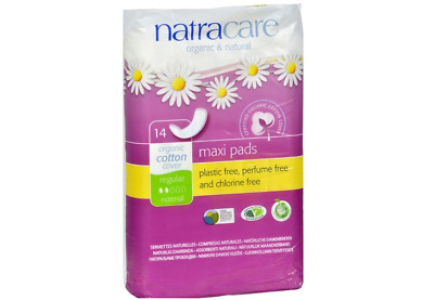 Natracare Natural Regular Pads, Organic Cotton, Plastic Free - 14 Pack