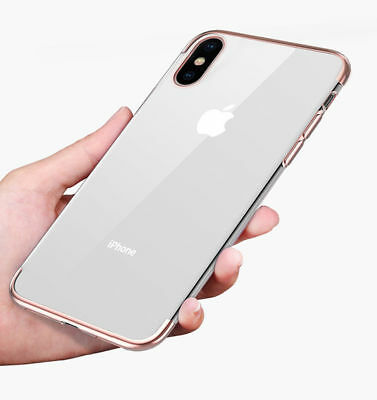 Shockproof Bumper Clear Case Ultra Thin Transparent For iPhone 6S Plus 7 Plus X