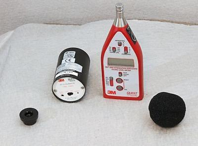 3M Quest 2200 Integrating Sound Level Meter Kit w/ Mic, Calibrator  Free Ship