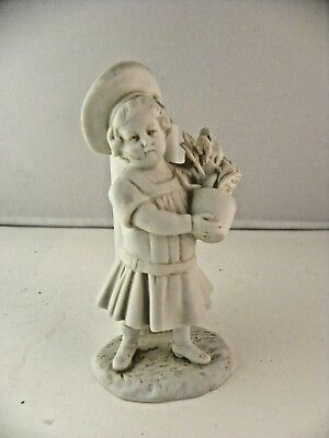 Antique Müller & Co bisque porcelain boy toothpickholder - Volkstedt Germany