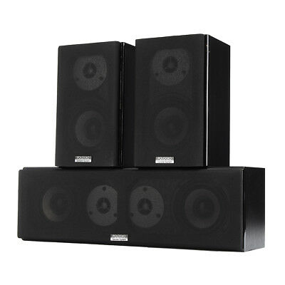 100W HiFi Center Channel Speaker 4 Inch Double 3D Stereo Audio Home Theater Kits