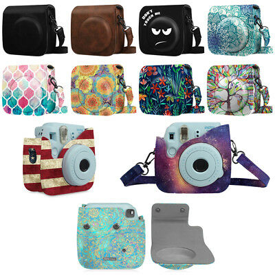 For Fujifilm Instax Mini 8 / 8+ Mini 9 Instant Camera Case Bag Protective Cover