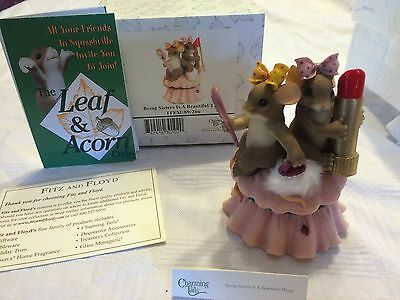 """Charming Tails """"BEING SISTERS IS A BEAUTIFUL THING"""" DEAN GRIFF FITZ & FLOYD MICE"""