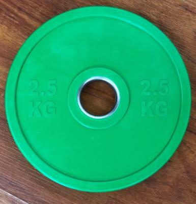 2.5Kg Coloured Bumper Competition Olympic Weight Plate Strength Training Barbell