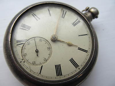 Antique Silver fusee pair cased pocket watch Beattie Insch.