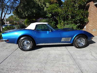 1972 Chevrolet Corvette Stingray L48 Convertible