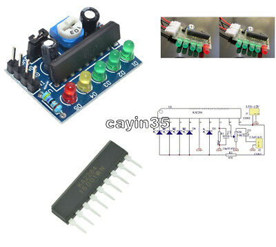 3.5-12V KA2284 SIP-9 Audio Level Indicator DIY Electronic Kit Parts 5mm Module