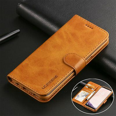 Magnetic Leather Flip Wallet Case Cover For Apple iPhone 6s / 7 / iPhone 8 Plus