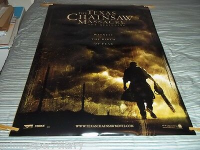 Texas Chainsaw Massacre:the Beginning 2006 Original 1Sh Movie Poster 27X40 Ds