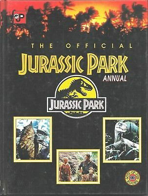 Jurassic Park The Official Annual by Jenni Atkin