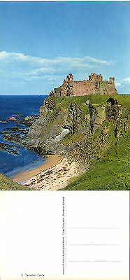 1980's TANTALLON CASTLE EAST LOTHIAN SCOTLAND COLOUR POSTCARD