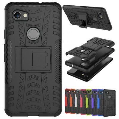 For Google Pixel 2/XL rugged heavy duty kickstand Armor shockproof phone case