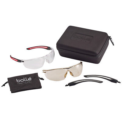 Bolle Safety Gunfire Lightweight Shooting Airsoft Range Tactical Glasses Kit f41c7ca64aa8