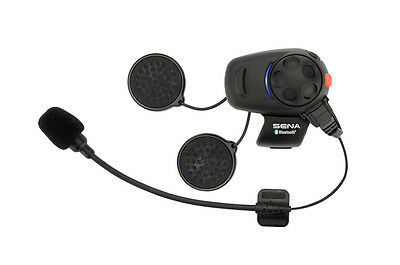 Sena SMH5 Bluetooth Motorcycle Intercom Single Pack Universal Open or Full Face