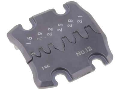1x FUT.PAD-12 Tool for crimping non-insulated terminals terminals PAD-12