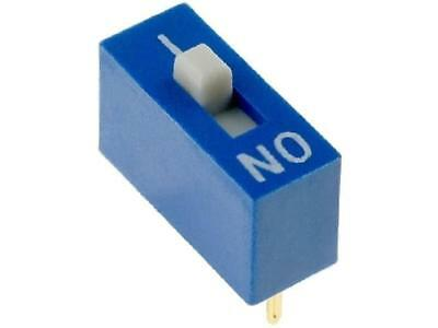 EDG101S Switch DIP-SWITCH Poles number1 ON-OFF 0.1A/24VDC -25÷70°C