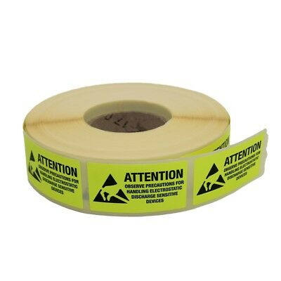 ERS-421500015 Self-adhesive ESD label Width45mm L25mm 42-150-0015 EUROSTAT GROUP