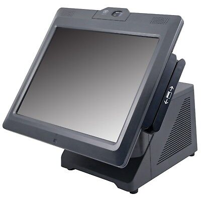 7616-1500 NCR 72XRT POS Terminal with MSR and Biometric