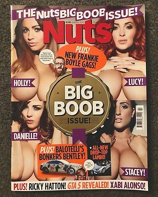 """NUTS MAGAZINE """"BIG BOOBS SPECIAL ISSUE"""" 23-29th NOV 2012 MINT CONDITION!!"""