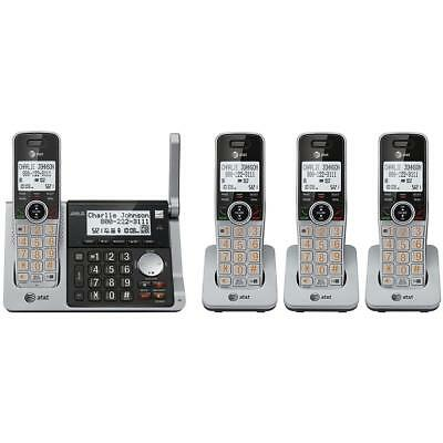 AT&T CL83484 4-Handset Cordless Answering System with Talking Caller ID